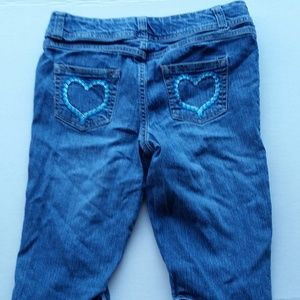 Girls Faded Glory Stretch Jean Shorts Size 12